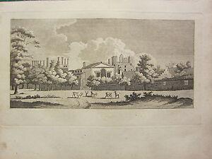 1793-Antik-London-Aufdruck-Schrank-von-Charles-I-Alt-Whitehall