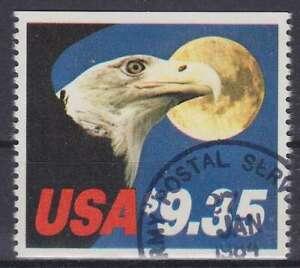 Pájaro Águila Ee.uu. Mi Núm 1648C, Sellado, Used