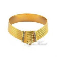 Trabzon Bileklik Altin Kaplama Kelepce 24 Karat Gold vergoldet Armreifen Bilezik
