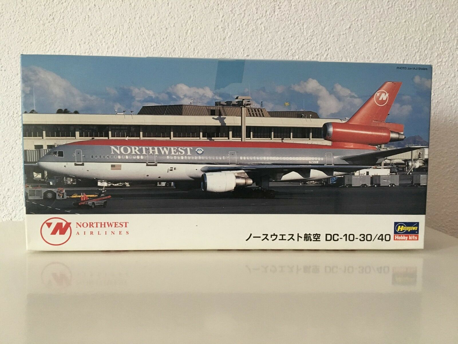 Hasegawa 1 200 McDonnell Douglas dc-10-30 40 northwest airlines airlines airlines modelo-kit ll22 a8c27b