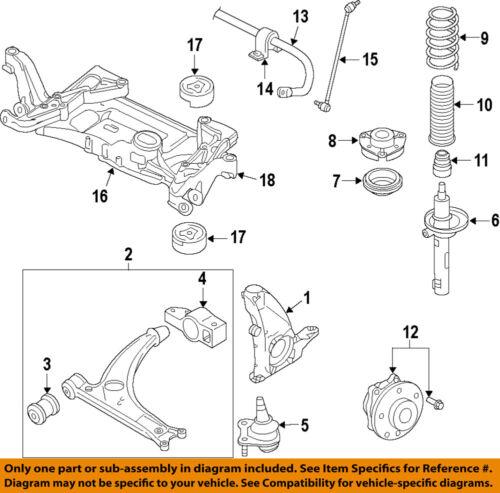 VW VOLKSWAGEN OEM 09-17 CC Lower Control Arm-Front-Bracket 3C0199231E