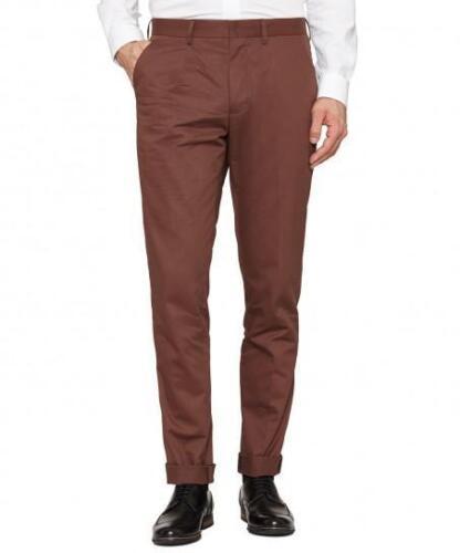 Trousers Slim Werth Peter Fit L34 Rust Men's W32 FSaZwxqpO