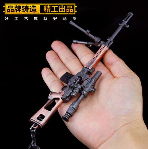 TOY 1//6 1:5 PUBG RUSSIAN SVD sniping rifle gun BattleField4 Battleground Metal