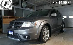 2013 Dodge Journey RT ALL WHEEL DRIVE/LEATHER/SUNROOF!!