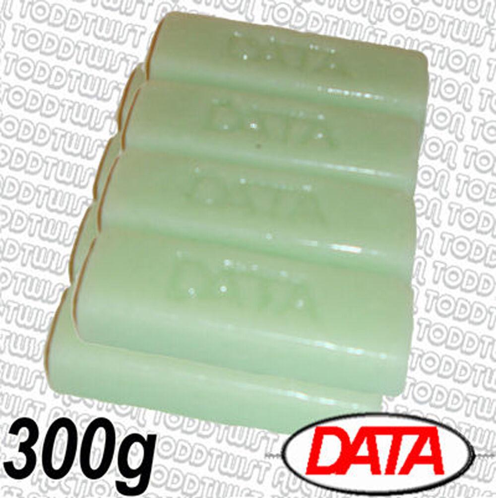 données Cire - Toute température Cire données BARRE Pack de 8 - 300g poids total - 123a2b