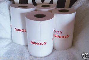 Gunold 1640NC Backing 37g White 100m x 21cm Embroidery stabiliser Medium Weight