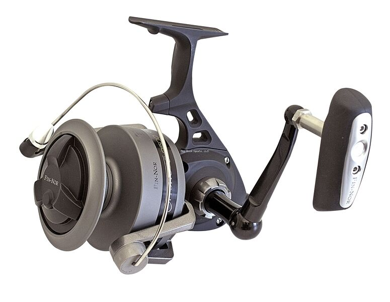 NEW FINNor Off Shore Spinning Reel, 65sz 4 Brg.,4.7 1, 400207 mono OFS6500A