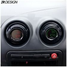 Seat Ibiza MK3 6L Centre Console Gauge holders- Gloss Black *PAIR*  03-09