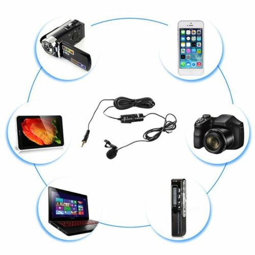 Micrófono Lavalier BOYA BY-M1 3.5 mm para Smartphone y cámaras con Micrófono Puerto DT