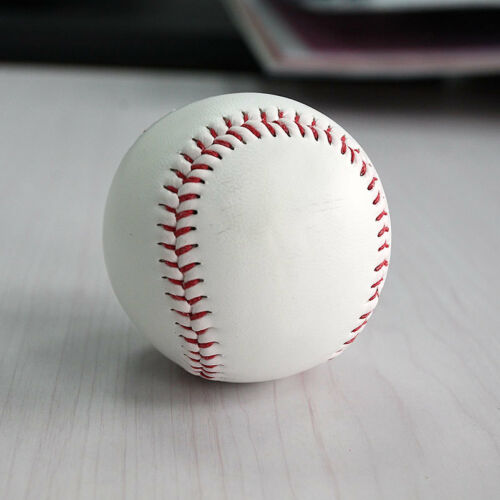 "v zh 9/"" Soft Leather Sport Practice /& Trainning Base Ball BaseBall Softball New"