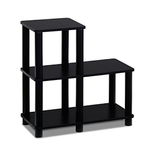 Modern-Coffee-Table-Small-Wood-End-Storage-Stand-Living-Room-Furniture-Black-New