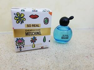 MOSCHINO SO REAL MINIATURE EDT 4,9 ML CHEAPANDCHIC - Italia - MOSCHINO SO REAL MINIATURE EDT 4,9 ML CHEAPANDCHIC - Italia