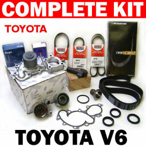 Toyota Tacoma Tundra 4Runner T100 3.4L//V6 Complete Timing Belt /& Water Pump Kit