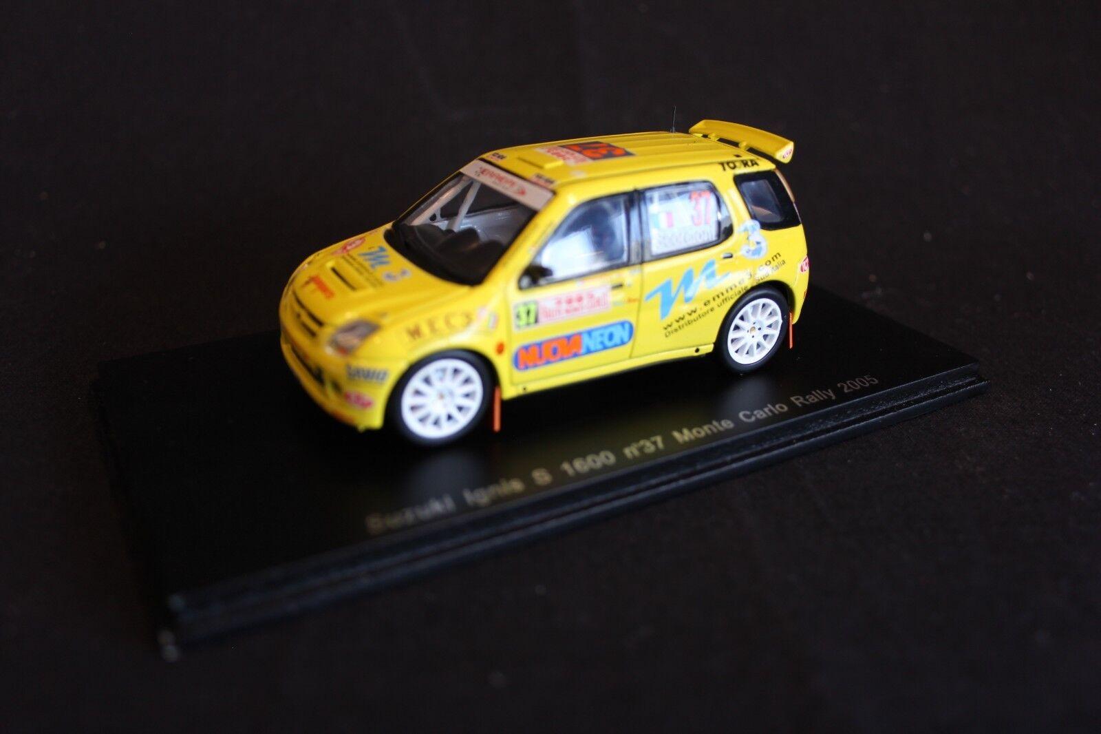 Spark Suzuki Ignis S 1600 2005 1 43  37 Scorcioni   Stefanelli Rally Monte-Carlo