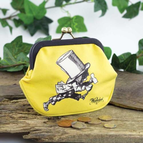 Coin Purse Alice in Wonderland Mad Hatter