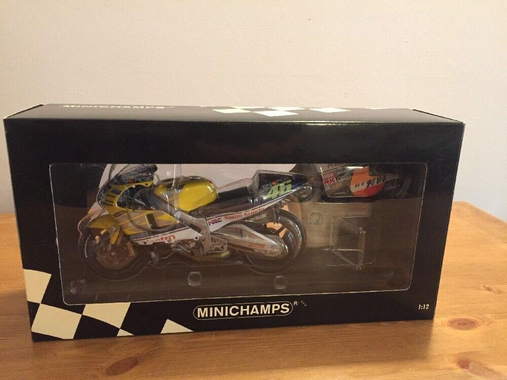 ORIGINAL Ausgabe MINICHAMPS HONDA NSR500 V ROSSI  2001 122 016146