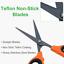 thumbnail 2 - GROWNEER 3 Packs Trimming Scissors Teflon Coated Non Stick Blades Pruning Shears