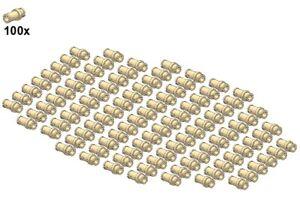 LEGO-Technic-Small-Parts-Pins-32002-07-Pin-3-4-100Stk-Beige
