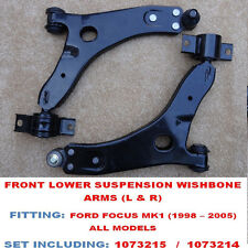 FORD FOCUS MK1 RS 98-04 TWO FRONT LOWER WISHBONES SUSPENSION ARMS NEW