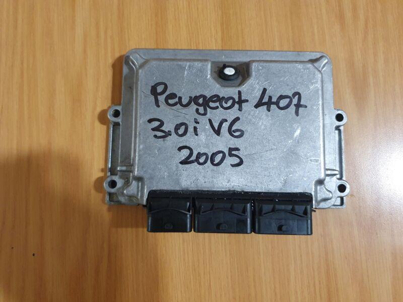 Peugeot 407 3.0i V6 Petrol ECU 2005 Bosch ECU part#96 541 922 80