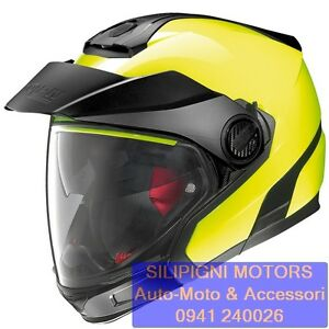 Crossover-NOLAN-N40-5-GT-HI-VISIBILITY-N-Com-22-Fluo-Yellow-Casco-Convertibile