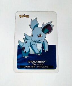 030-Nidorina-POKEMON-Lamincards-Collection-2005-EDIBAS-Espanol