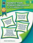 Nonfiction Reading Comprehension for the Common Core: Grade 3 by Heather Wolpert-Gawron (Paperback / softback, 2014)