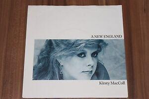 Kirsty-MacColl-A-New-England-1985-Vinyl-7-034-Stiff-Records-6-14297-AC