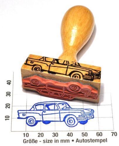 Lloyd Arabella als schöner AutoStempel mit Holzgriff 1959-63