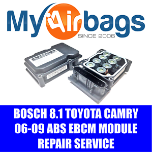 FITS 2008 TOYOTA CAMRY ABS MODULE REPAIR REBUILD SERVICE BOSCH 8.1 4405006070