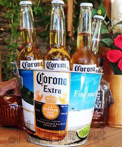 Corona Beer Beach Ice Bucket & & Corona Lime Bucket - Brand New -Free Shipping