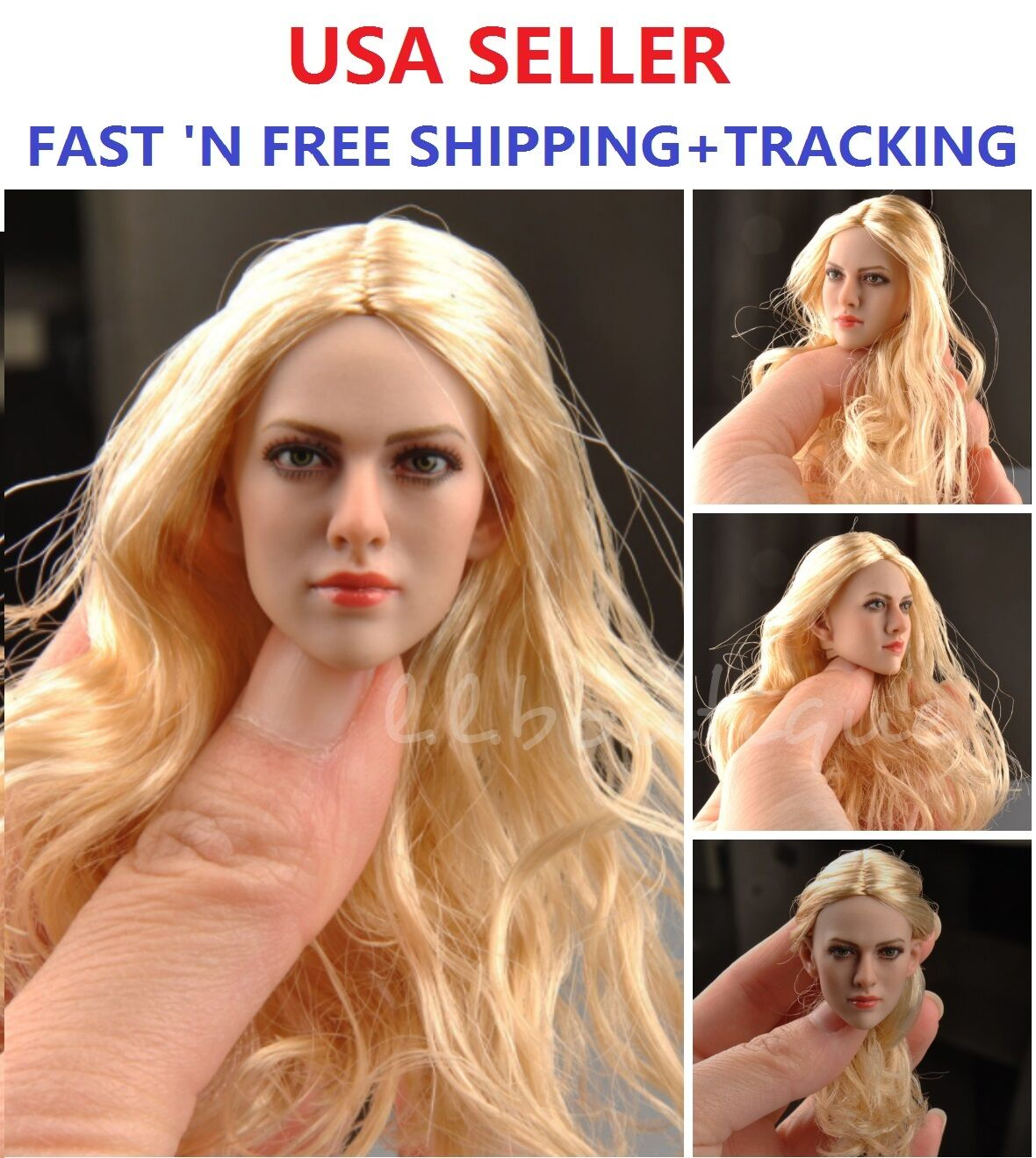 KIMI KT004 1 6 scale Amanda Seyfried Female head Sculpt for PHICEN VERYCOOL