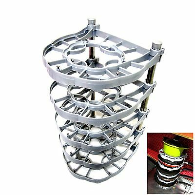 Frying Pan Organizer Rack Pot Organizer Holder Kitchen Cabinet Pantry DIY Silver