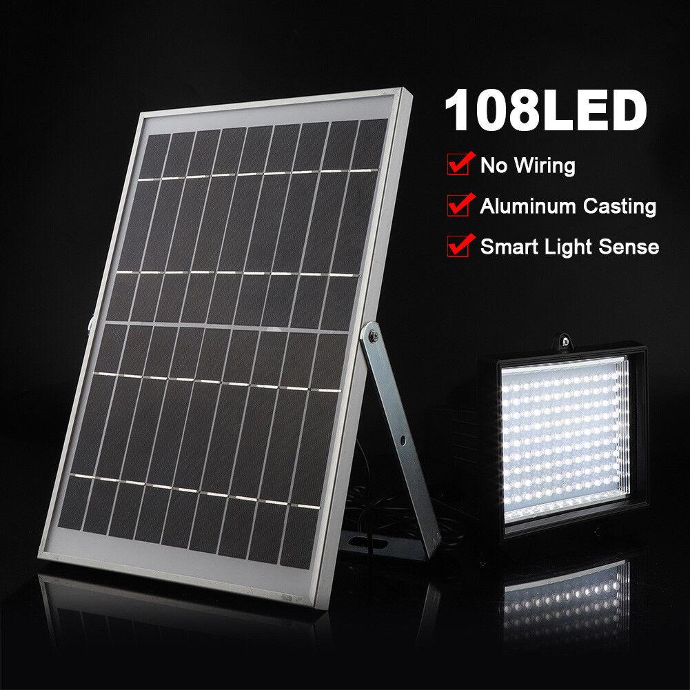 108 LED Solarstrahler Solarlampe Fluter Solarleuchte Gartenleuchte Außenlampe A     | Räumungsverkauf  | Online Shop  | Verschiedene Arten und Stile
