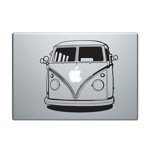 Details About Macbook Aufkleber Sticker Decal Skin Air Pro 11 13 15 Vw Bulli Camper Bus