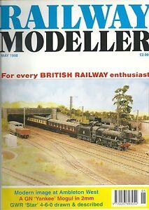 Railway Modeller Magazine May 1998 - Radstock, Avon, United Kingdom - Railway Modeller Magazine May 1998 - Radstock, Avon, United Kingdom