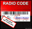 █► código de radio adecuado para Becker-Indianapolis Cascade Traffic Pro avus DTM