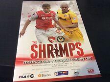 Morecambe v Newport County 2013-14 1st Season in League