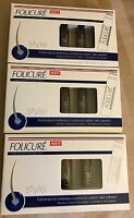 (3)boxes Folicure Tratamiento Capilar Para /folicure Hair Treatment 5vials/7ml