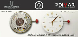 Original Movement Eta 2892 A2/UNIVERSAL UG.71