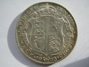 1913 silver Halfcrown VF
