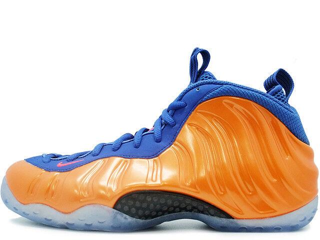 2014 Nike Air Foamposite One PRM SZ 9 NY Knicks NYK NYC orange PRO 314996-801