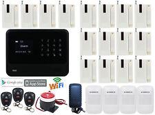 W75 G90B Internet APP GSM Wireless Home Security Alarm Burglar System WIFI Dial