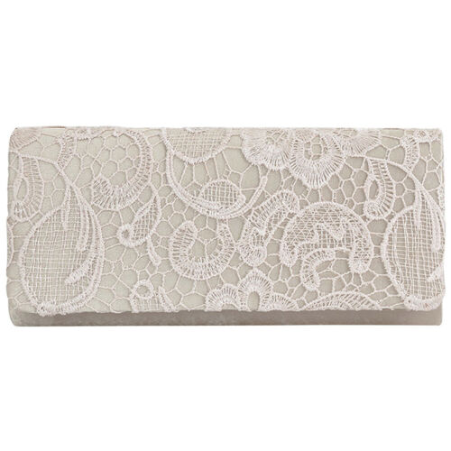 Beautiful Women Lace Bag Clutch Evening Prom Flap Case Bridemaide Dinner Handbag