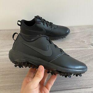 Nike-Womens-Roshe-G-Tour-Golfschuhe-UK-4-5-amp-5-Schwarz-ar5582-007