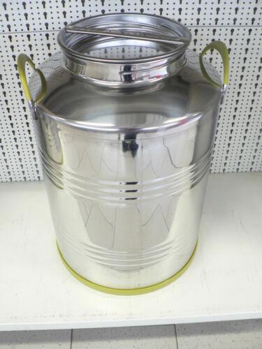 Kanne, Behälter, Fass aus Edelstahl, V2A, 100 Liter