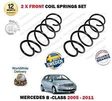 FOR MERCEDES B150 B160 B170 B180 B200 CDI 2005-2011 2x FRONT COIL SPRINGS SET