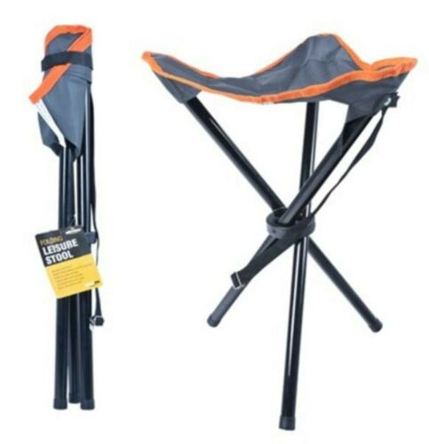Folding Leisure Stool Ideal 4 Festivals,Sports Days,camping,fishing and caravans
