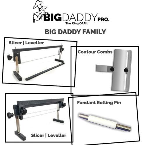 Big Daddy ProCake SlicerCake LevellerMulti-layer SlicerSingle Blade