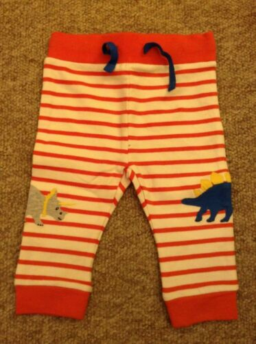 0 to 4 Years NEW Ex Baby Boden Fun Applique Striped Joggers RRP £18//£20